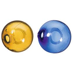 Two Glass Target Balls