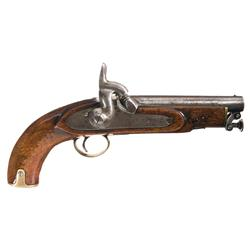 British Tower Percussion Pistol Dated 1863