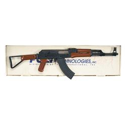 Chinese Poly-Tech AKS Side-Folding, Red Stock Assault Rifle with Original Box and Accessories