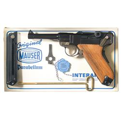 Mauser Interarms American Eagle Luger Semi-Automatic Pistol in Original Box