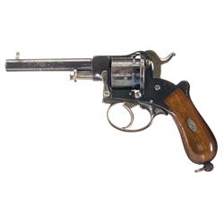LeFaucheux Double Action Pinfire Revolver