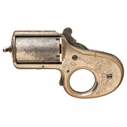Scarce Reid .32 Caliber My Friend Knuckle Duster Revolver