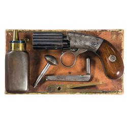 Scarce Blunt & Syms Small Frame, Ring Trigger, Baby Pepperbox with Box and Accessories