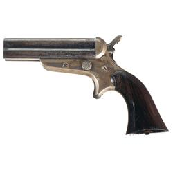Sharps & Hankins Model 3C Four Barrel Pepperbox Pistol