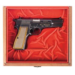 Cased Belgian Browning Hi-Power Browning Collectors Association Commemorative Semi-Automatic Pistol