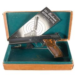 Colt Second Series Woodsman Match Target Semi-Automatic Pistol with Box