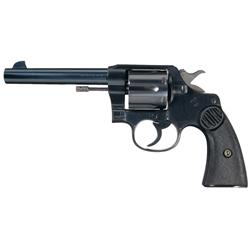 Late Production Pre-War Colt New Service Revolver