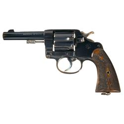 Early Production Colt New Service Revolver