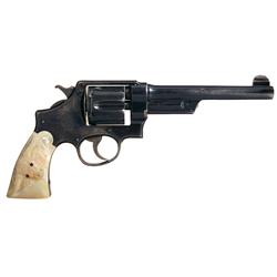 Very Rare and Early Production Smith & Wesson 44 Hand Ejector First Model Triple Lock Double Action