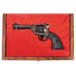 Colt New Frontier John Wayne  The Duke  Commemorative Revolver with Shipping Box and Case