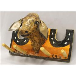 Janos Chihuahua Folk Art Coat Rack