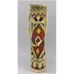 Plains Indian Lidded Parfleche Quiver