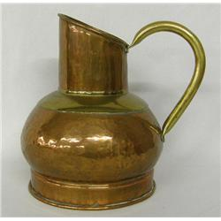 Copper & Brass Pitcher