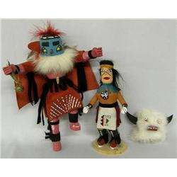 2 Kachinas, One by R Grey