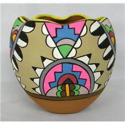 1960s Tesuque/Jemez Pottery Bowl