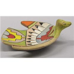 Vintage Tesuque Pottery Bird