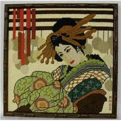 Japanese Cross Stitch Picture