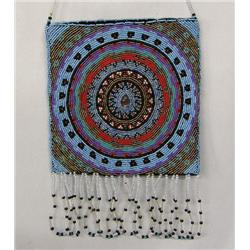 Hand Beaded Bag By Kills Thunder
