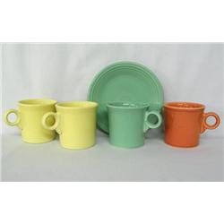 5 Pieces Homer Laughlin Fiesta Ware