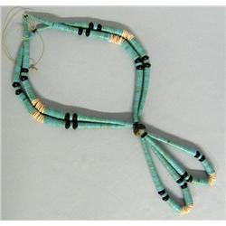 Santo Domingo Pueblo Necklace by Allen Lovato