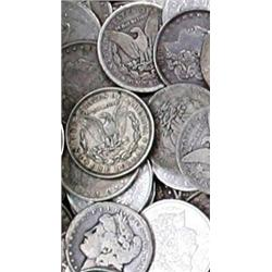 Random Date Morgan Silver Dollar from Cache
