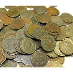 Lot of 10 Indian Head Pennies-Pre 1900