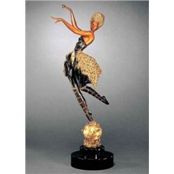 Erte'  Rose Dancer  Original/Ltd Ed Bronze