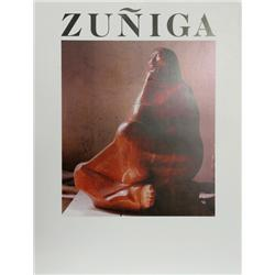 Francisco Zuniga, Exhibition Poster, Poster