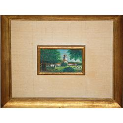 Jose Antonio Velasquez, Framed Painting