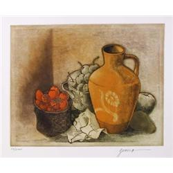Miguel Herrera, Still Life 6, Etching and Aquatint