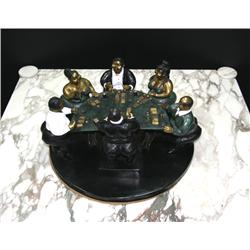 Bruno Luna, Black Jack Table, Sculpture