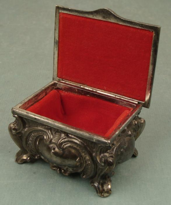 Remarkable, very Vintage antique metal jewelry boxes