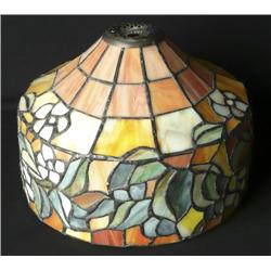1970's Stained Glass Shade