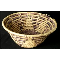 Hopi Coiled Basket