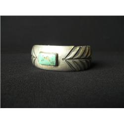 Sterling Turquoise Cuff