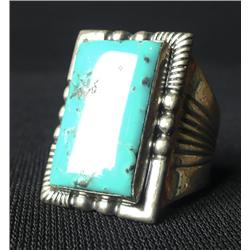 Navajo Turquoise Sterling Ring