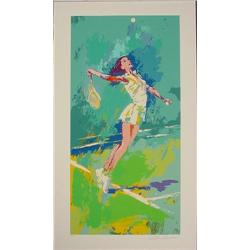 SWEET SERVE Tennis Limited Edition LeRoy Neiman Art Spe