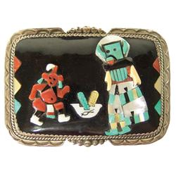 Zuni Belt Buckle - Beverly Etsate