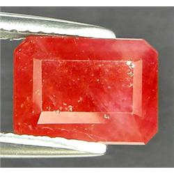 .55Ct Fancy Padparadsha Sapphire Emerald Cut (GMR-0853B)