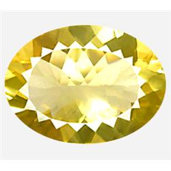 14.66ct Huge Dazzling Yellow Andesine VVS Appraisal Estimate $2932 (GEM-8475)