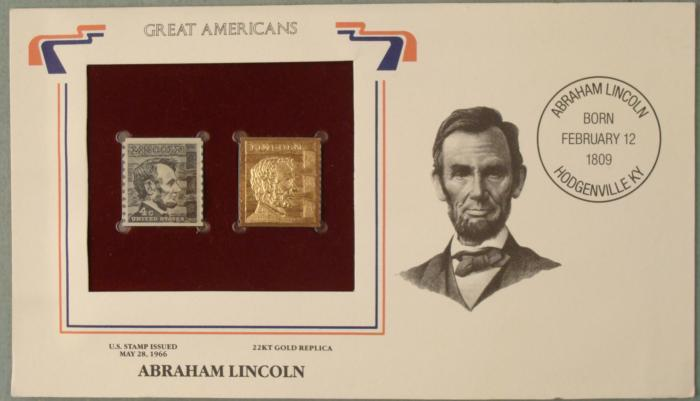 Gold Replicas of United States Stamps 22kt Gold Replica Stamps