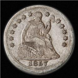 1837-1873 Seated Liberty Half-dime -  (1)