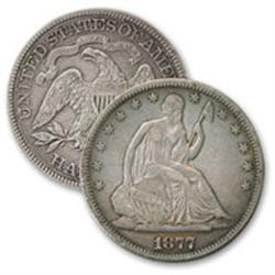 Seated Liberty Half Dollar G-XF Grade