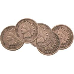 Indian Head Pennies (5 Different Dates)