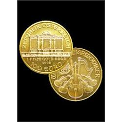 Random Year Austrian Philharmonic 1 oz Gold 999.9
