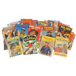 Western comic books (40), includes Lone Ranger, Gene Autry, Roy Rogers, Buck Jones, Rex Allen, Red R