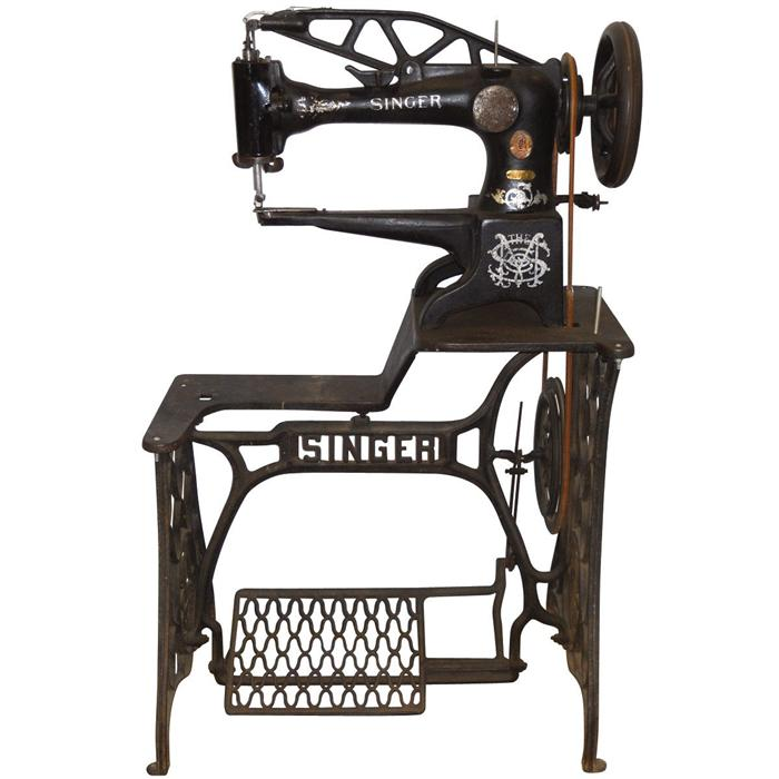 Sewing Machine Singer Heavy Duty Treadle For Leather Boots Etc Stunning Singer Sewing Machine For Leather