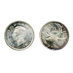 1940.  ICCS Mint State-65. Cameo.  Fully white.