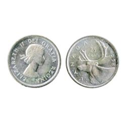 1958. Cameo.  ICCS Mint State-65;  1965. Heavy Cameo.  ICCS Mint State-65.  Lot of two (2) brilliant