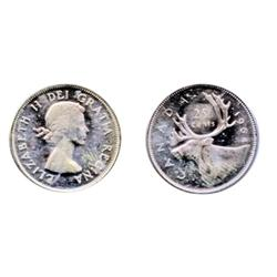 1964.  ICCS Mint State-65.  Designated as a 'Cameo' contrast.  A brilliant gem.